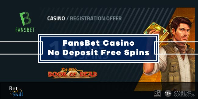 FansBet 10 No Deposit Free Spins On Book Of Dead - No Wagering!