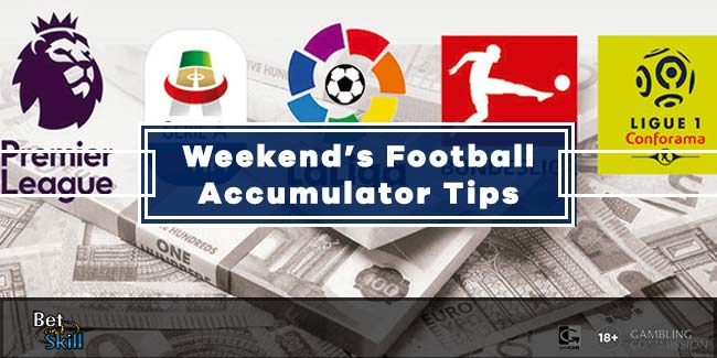 This Weekend's Best Football Accumulator Tips