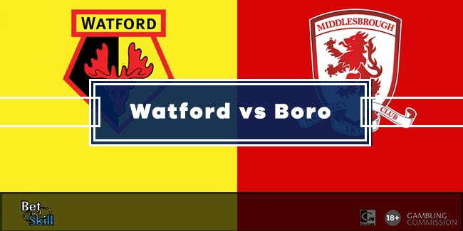 Watford vs Middlesbrough Betting Tips & Predictions (Championship - 11.9.2020)