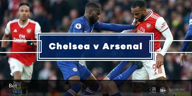 Chelsea vs Arsenal Betting Tips, Predictions, Lineups & Odds (Premier League - 21.1.2020)