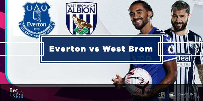 Everton vs West Brom Betting Tips & Predictions (Premier League - 19.9.2020)