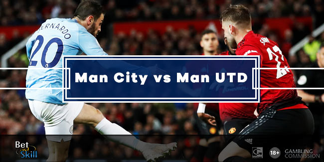 Manchester Derby Betting Tips, Predictions, Lineups & Odds (City vs United - 7.12.2019)