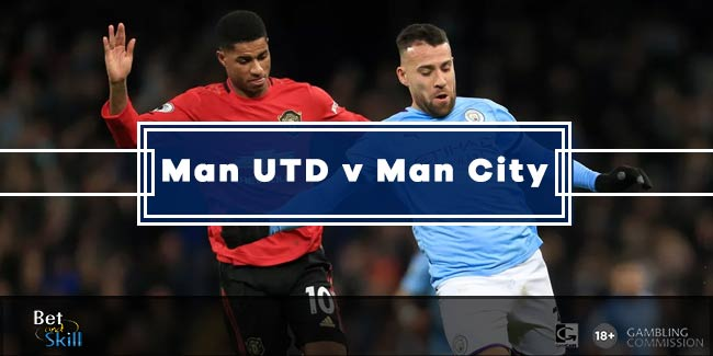 Man UTD vs Man City Betting Tips, Predictions, Lineups & Odds (Premier League - 8.3.2020)