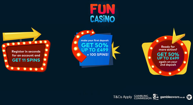Fun Casino 11 No Deposit Free Spins 998 Bonus Betandskill