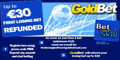 Goldbet Betting Bonus