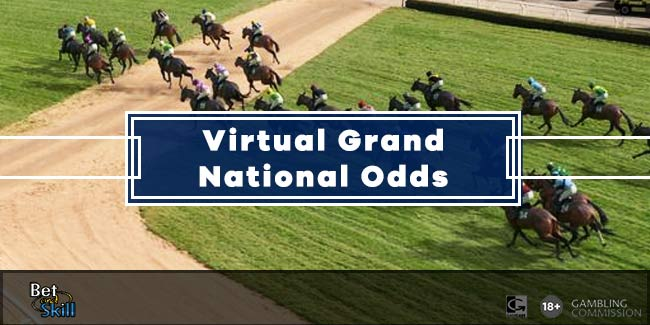 Virtual Grand National Odds - Tiger Roll 5/1 Favourite