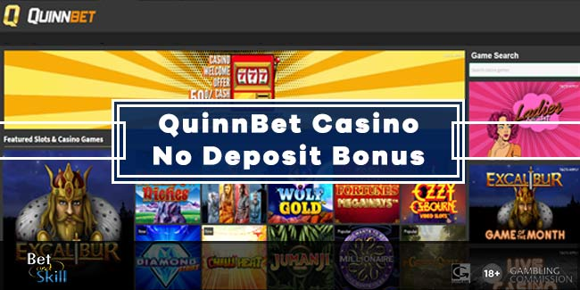 QuinnCasino No Deposit Bonus: €10 For Irish or £1 For UK Players