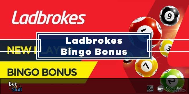 Ladbrokes Bingo Bonus: Spend £5 Get £30 Free