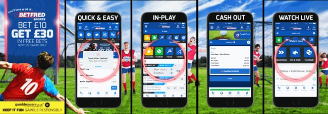 Betfred Mobile App