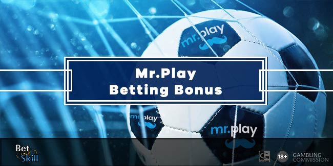 Mr.Play Sport Bonus: Bet £10 Get £10 Free Bet
