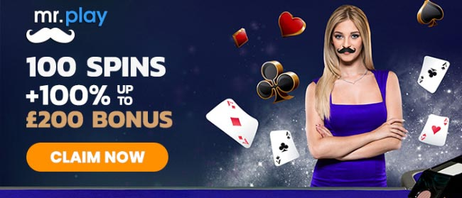 mr play casino live dealer bonus