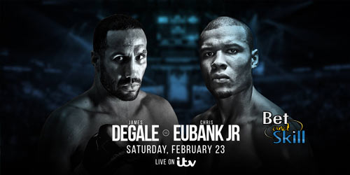 James DeGale v Chris Eubank Jr Betting Tips, Predictions & Odds (Boxing - 23.2.2019)