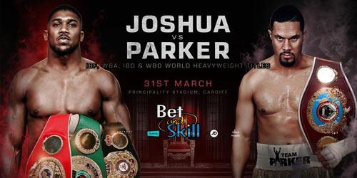 Joshua V Parker Odds