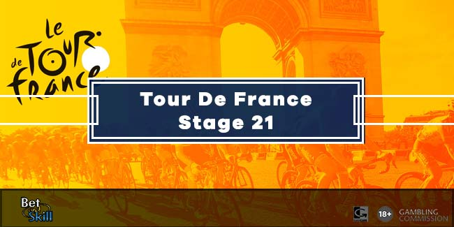Tour De France Stage 21 Predictions, Betting Tips, Odds & Free Bets (20.9.2020)