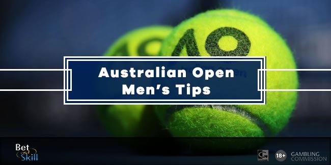Today's ATP Australian Open Betting Tips & Accumulators (Men's singles)