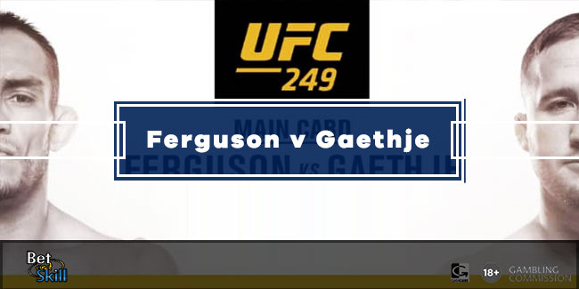 Ferguson v Gaethje Betting Tips, Predictions, Odds & Free Bets (UFC 249)