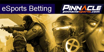 Betting on e-sports now available on Pinnacle