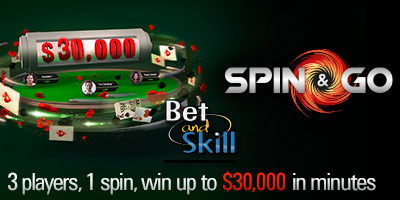 What is a Pokerstars Spin & Go tournament and how does it work?
