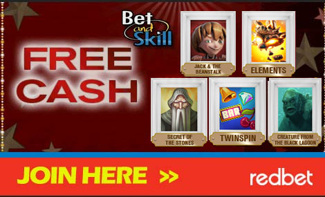 RedBet Casino - free cash - slot machine