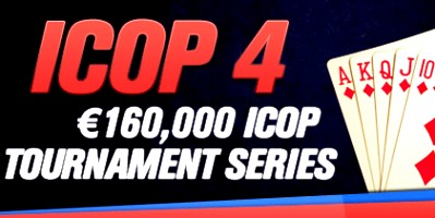 Redbet Poker ICOP 4, €160,000 ICOP Tournament Series