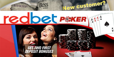 Redbet Poker review: 2 networks, 2 bonuses