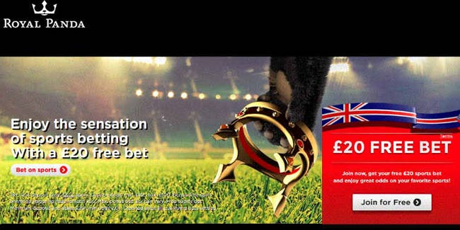 royal panda free bet