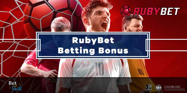 Ruby Bet £10 Free Bet On First Deposit - No Bonus Code Needed