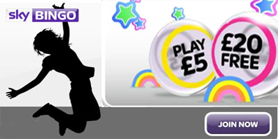 Sky Bingo review: info, jackpots, bonus offers and promotions