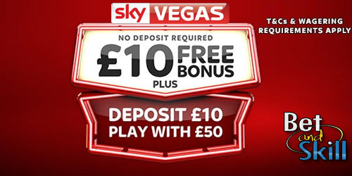 Sky vegas 10 pound free betting off track betting locations springfield il