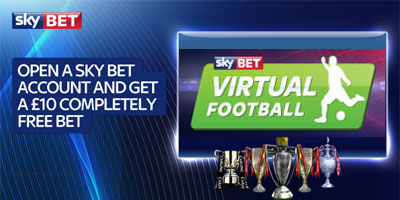 SkyBet virtual football, an innovative fixed odds betting game