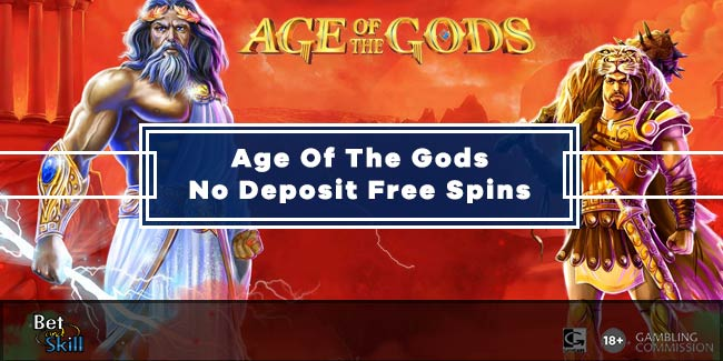 Age Of The Gods Free Spins No Deposit: Claim Yours Today!