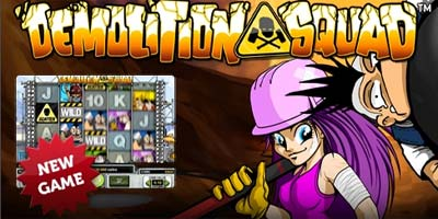 Demolition Squad video slot * How To Play * Demo * Free Spins