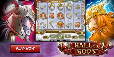 Hall of Gods video slot * How To Play * Demo * Free Spins