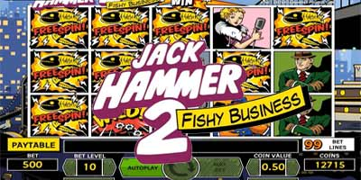 Jack Hammer 2 video slot * How To Play * Demo * Free Spins