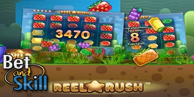 Reel Rush slot machine * Demo * Free Spins * No deposit bonus * How to Play