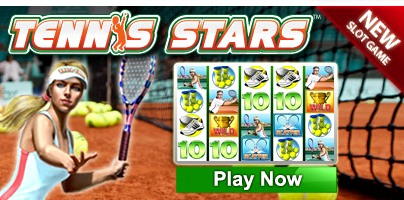 New Slot Game at Betfred Casino: enjoy Tennis Stars !