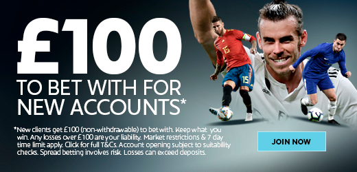 Sporting Index £100 free to get you started! No deposit needed!