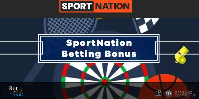 SportNation Bonus Code: 50% Up To £125 Free Bets
