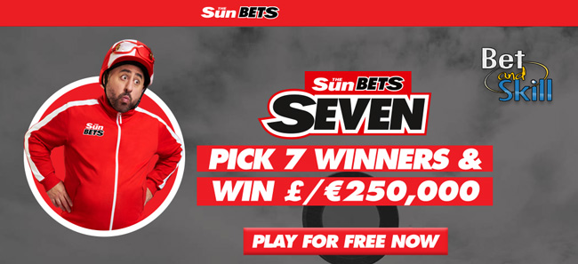 Sun Seven Win the jackpo with SunBets