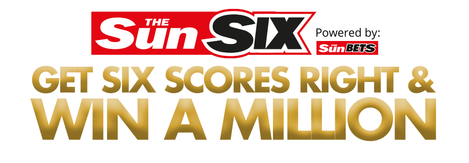 sun six! Play for free, win £1 million!