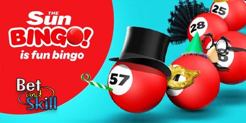 Sun Bingo Bonus: Spend £10, Play with £40!