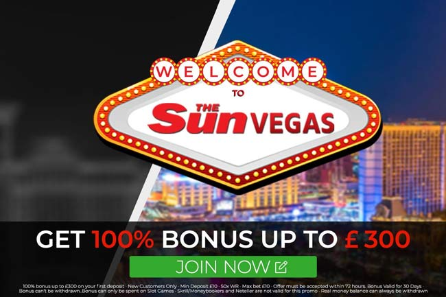 the sun vegas bonus