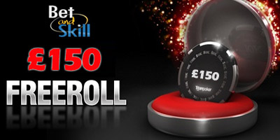 BetAndSkill's exclusive £150 poker freeroll (August 5th, 2013)