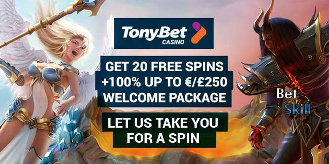 tonybet casino free spins