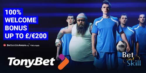 TonyBet €/£200 Matched Bonus With Promo Code TONY200