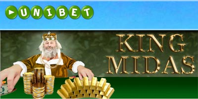 Unibet Poker is giving away 2 kilos of gold with the King Midas promotion