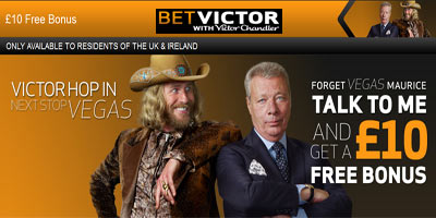 BetVictor Casino: 10 pound free bonus, no deposit required! (Limited Time offer)