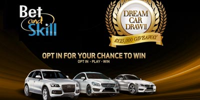 BetVictor Casino Dream Car Draw: win a Range Rover Evoque, a Jaguar XF or a Mercedes SLK