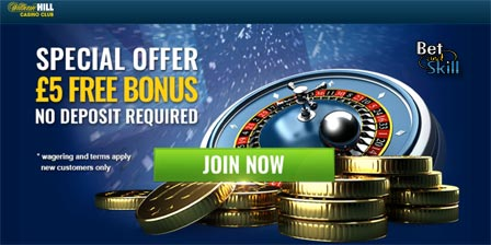 William Hill Casino Club Free Spins