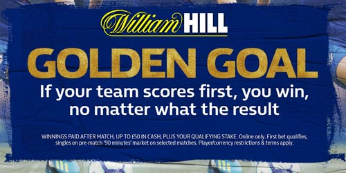 William Hill Golden Goal - How To Make A Guaranteed Profit